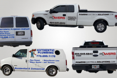 Cut Vinyl Vehicle Graphics