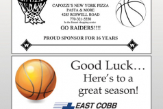 Walton Raiders Basketball Yearbook
