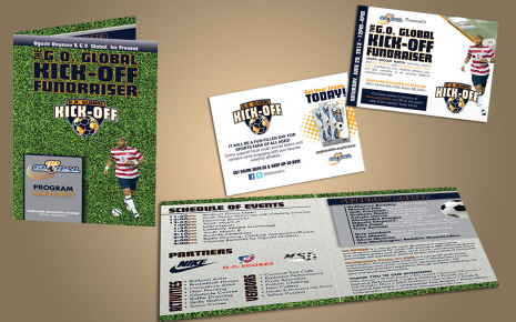 Event Program and Flyer