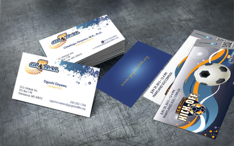 G.O. Global Business Cards and Event Tickets
