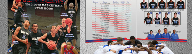 Walton Raiders Basketball Yearbook